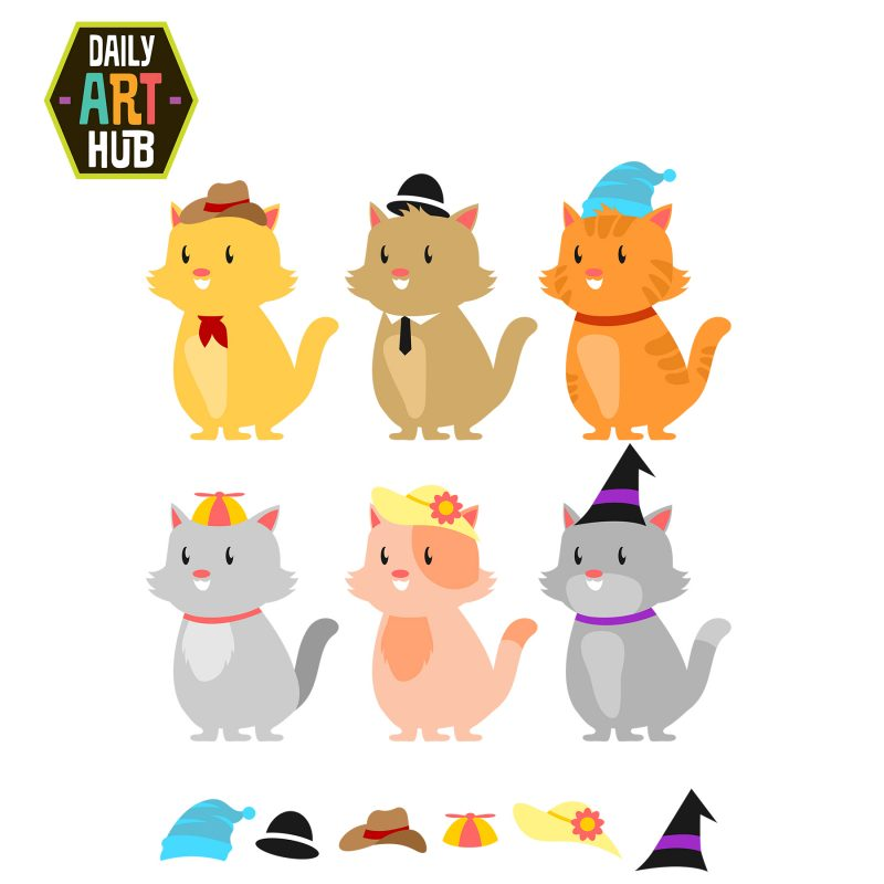 Cats in Cool Hats