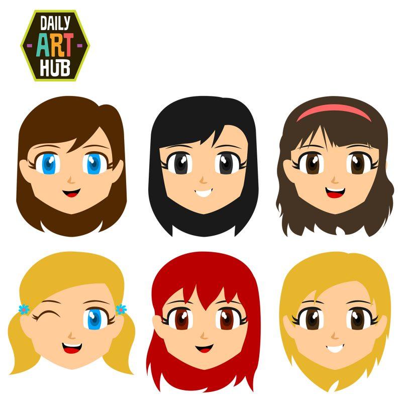 Cute Girl Faces