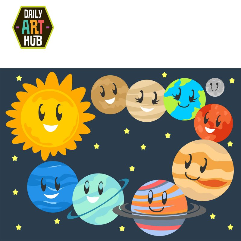 Cute Planets