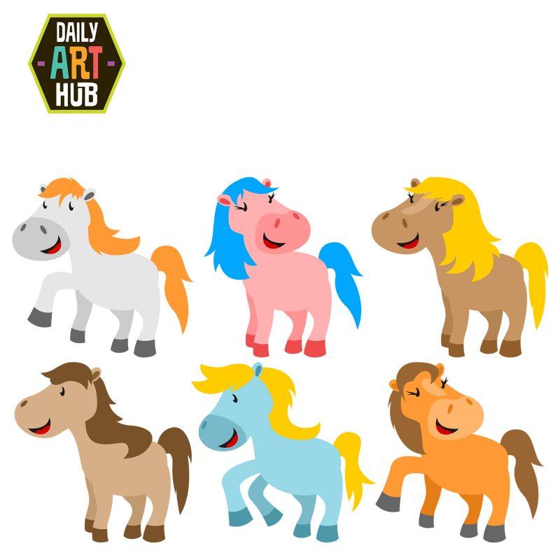 Cute Ponies