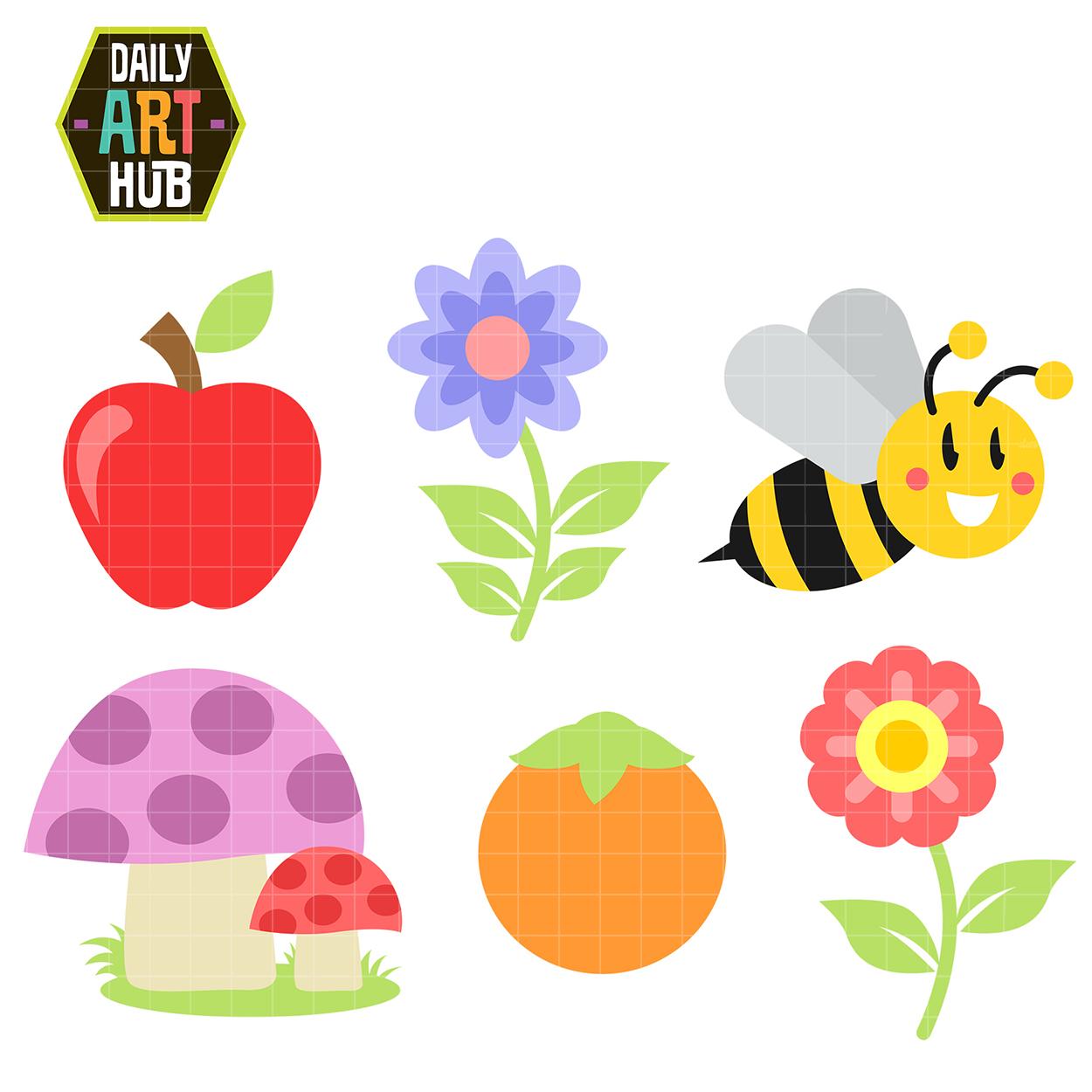 Sweet Little Things Clip Art Set – Daily Art Hub – Free ...