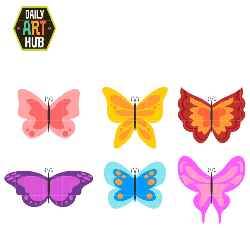 Sweet and Simple Butterflies