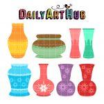 Empty Flower Vases