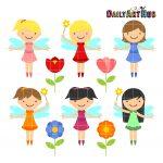 Cutesy Garden Fairies