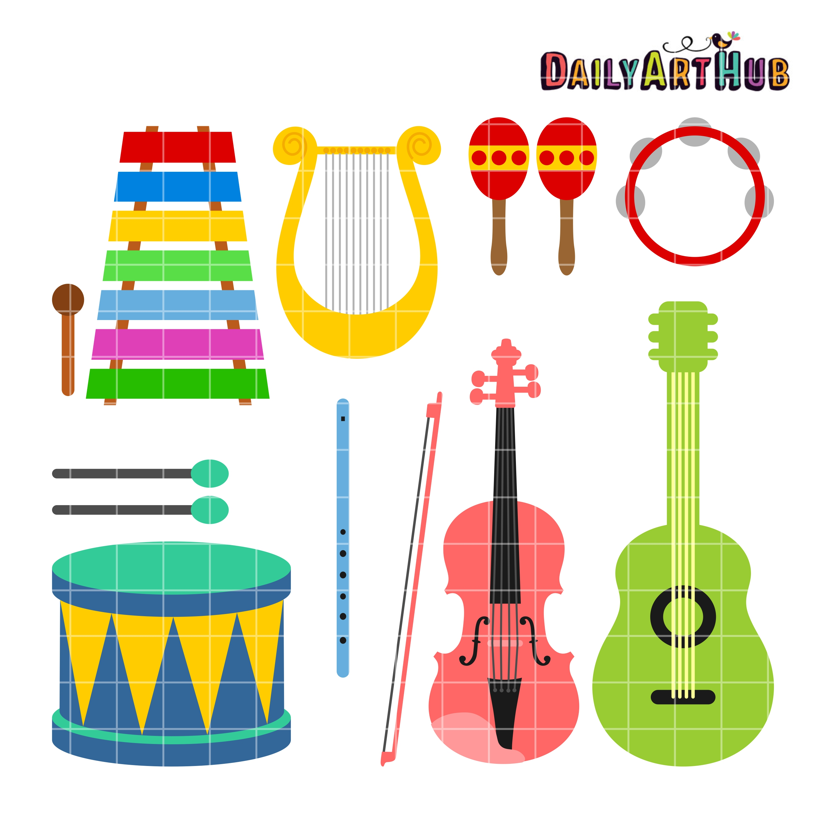 musical instruments clip art set daily art hub free clip art rh dailyarthub com musical instruments clipart free download musical instruments clipart png