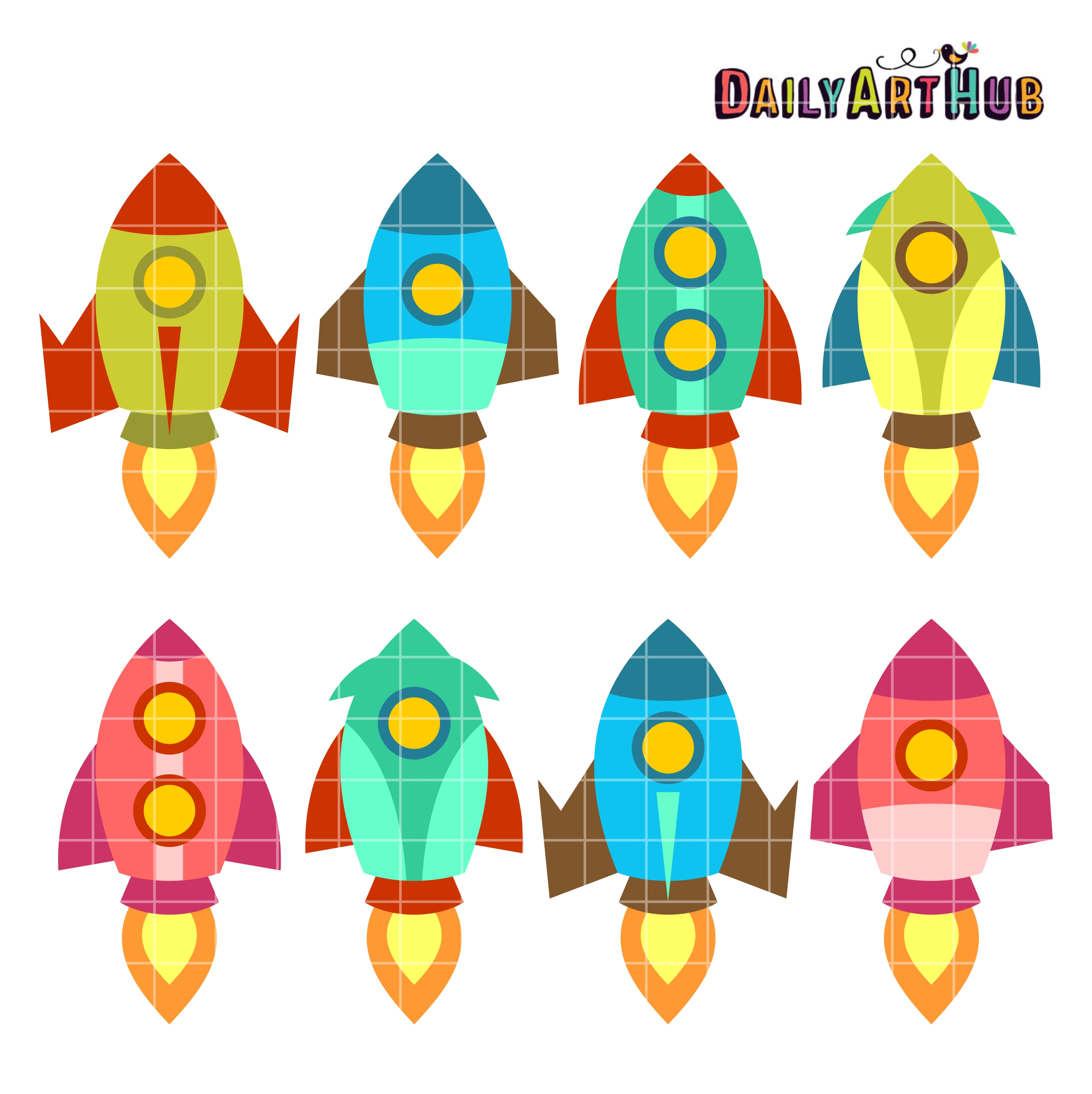 old school rocket ships clip art set daily art hub free clip art rh dailyarthub com school clipart free black and white school clipart free black and white