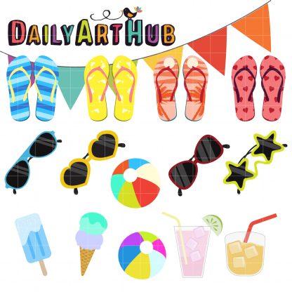 d843fbc8a Summer Clip Art Set – Daily Art Hub – Free Clip Art Everyday