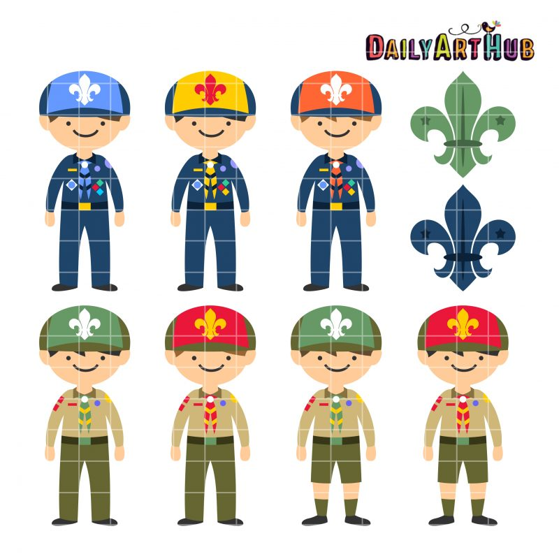 Free Clip Art for Boy Scouts