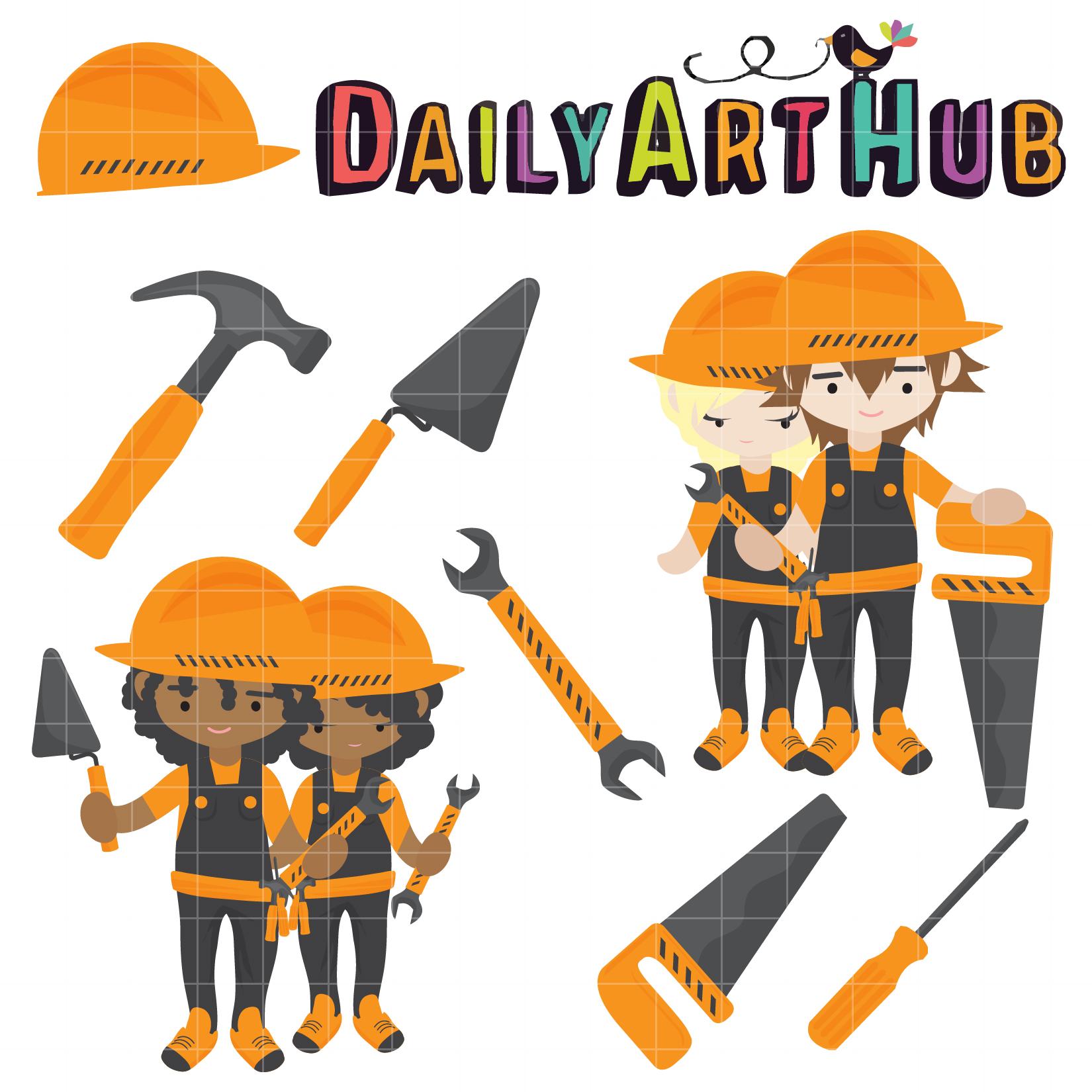 kids at work clip art set daily art hub free clip art everyday
