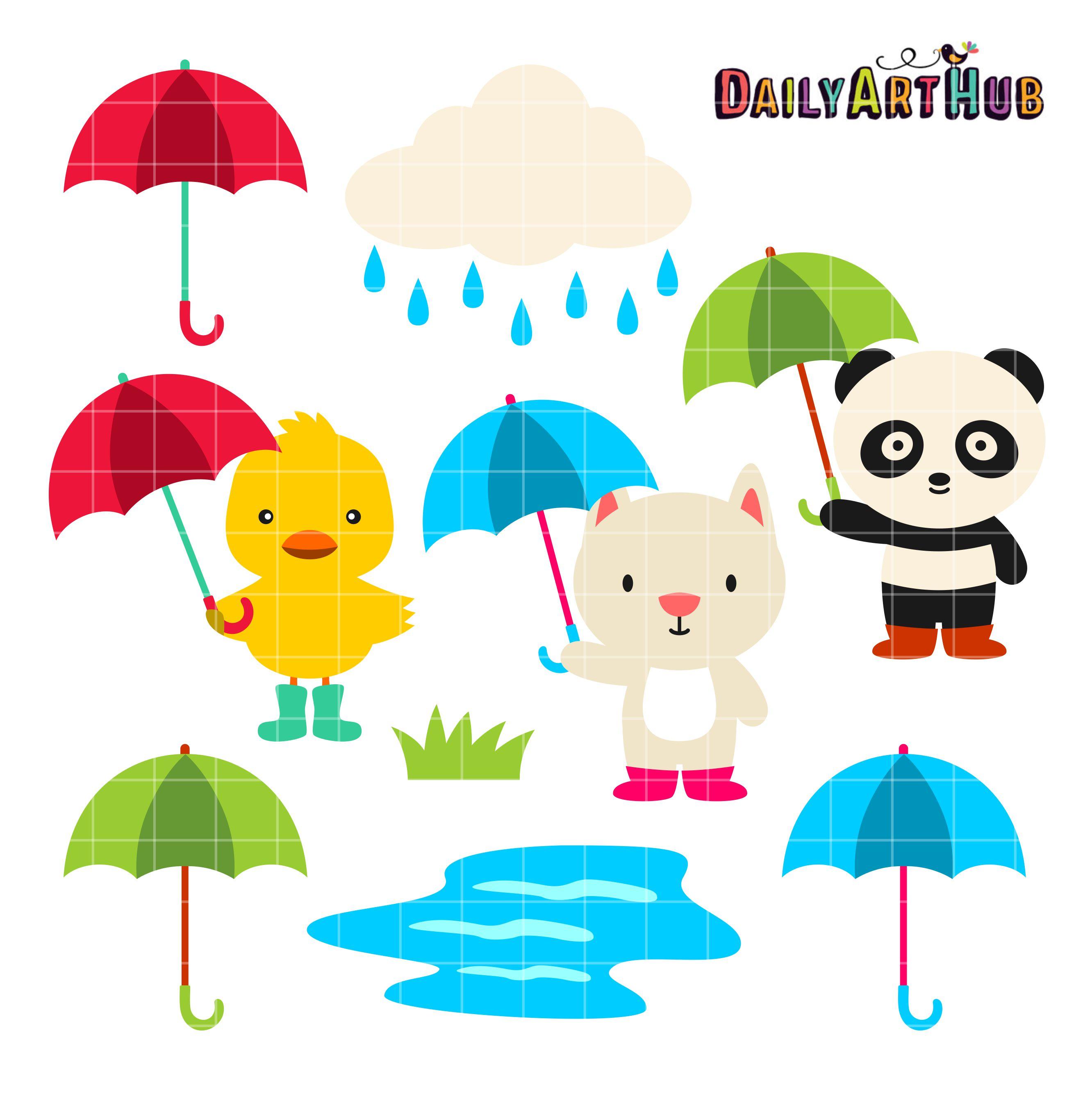 999x555 151kb Jpeg: Rainy Day Clip Art