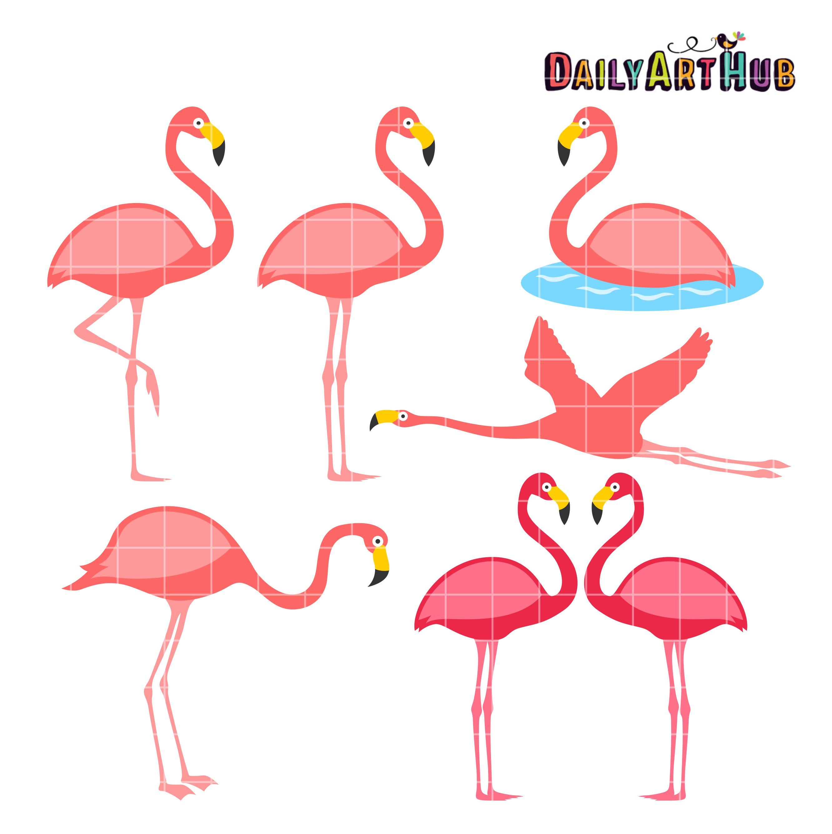 flamingo clip art set $ 2 99 flamingo clip art set add to cart ...