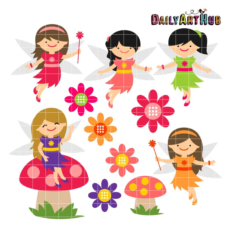 Spring Time Fairies