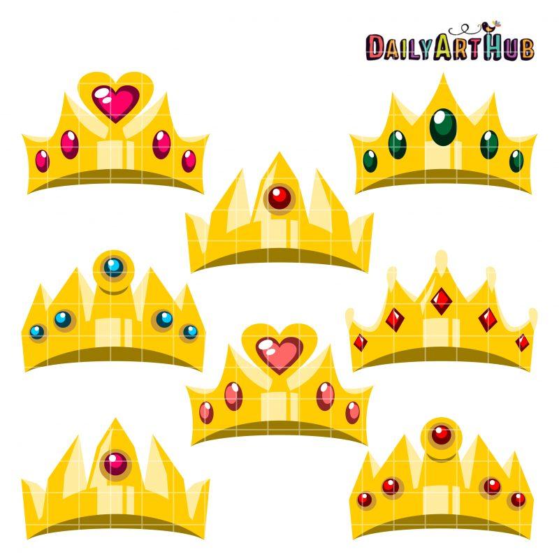 Cartoony Crowns