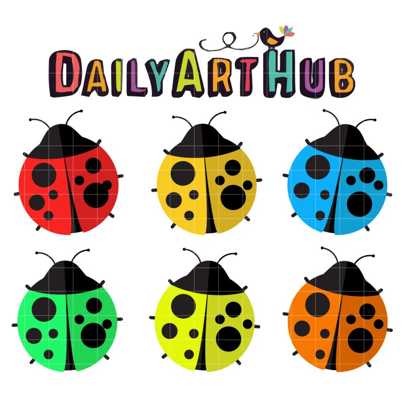 Colorful Lady Bugs