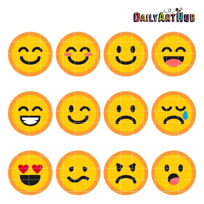 Emoticons Collage