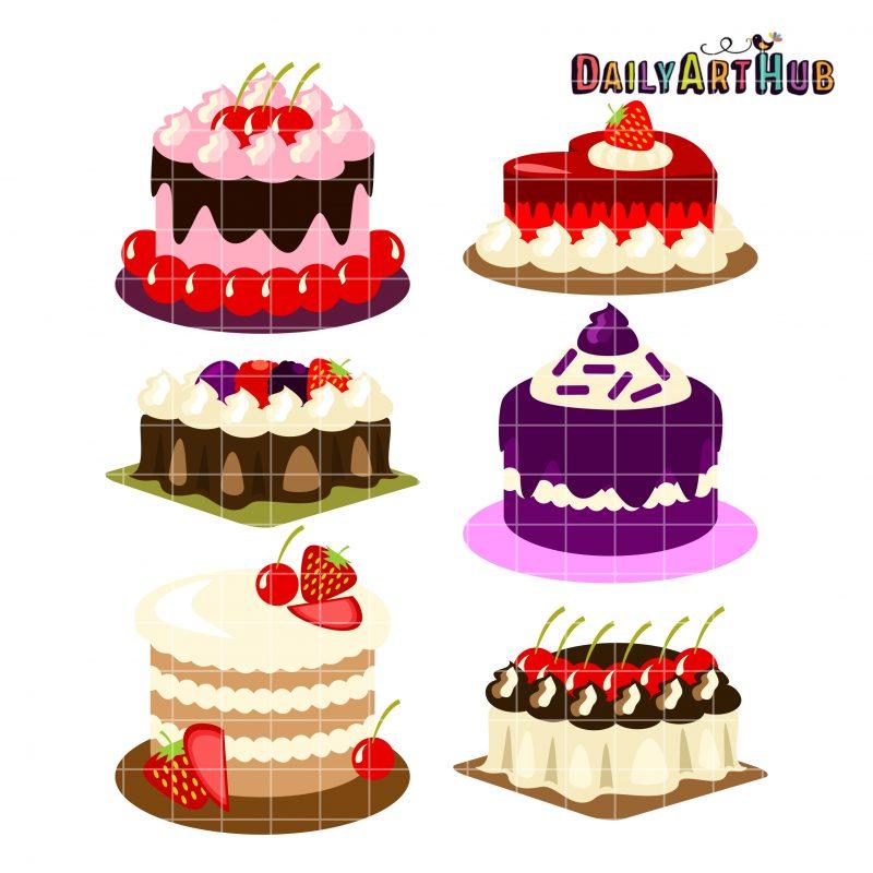 Fruity Cakes