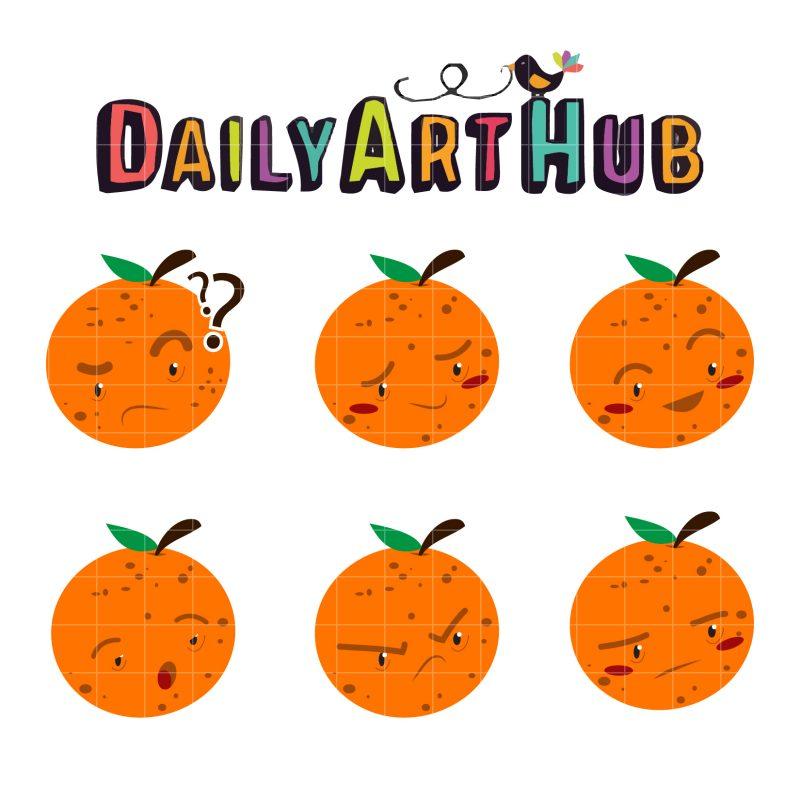 Mr Orange Emoticon