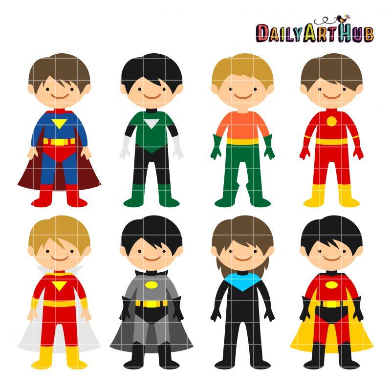 Superhero Boys