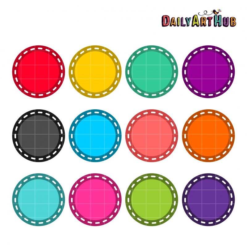Circular Colorful Patches