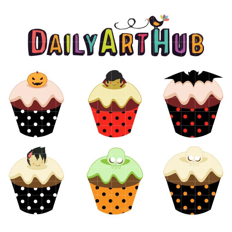 Halloween Delicious Cupcakes