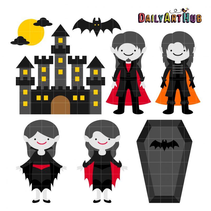 Halloween Vampire Castle