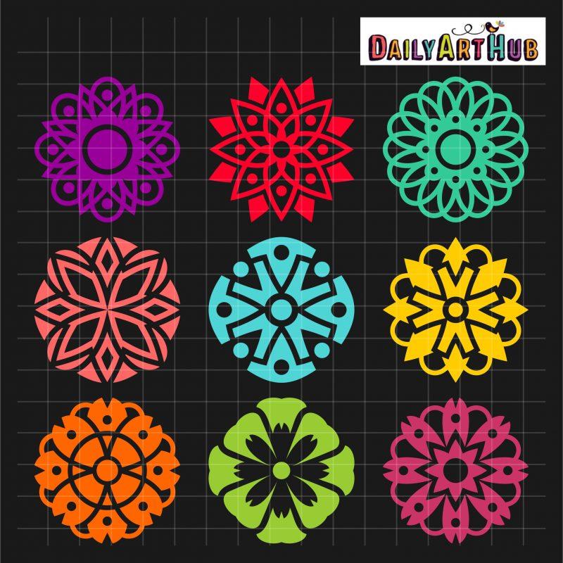 Mandala Florals