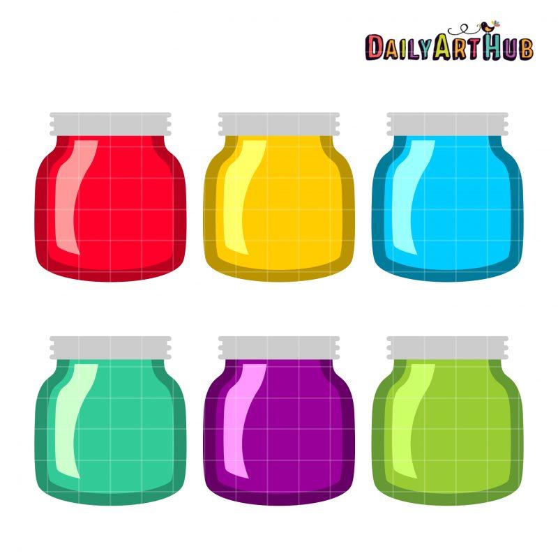 Simple Pretty Jars