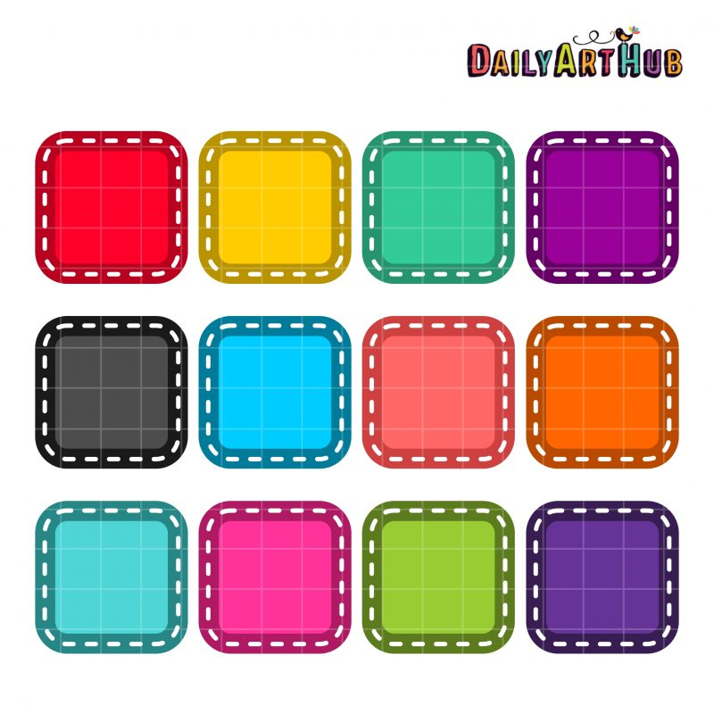 Square Colorful Patches