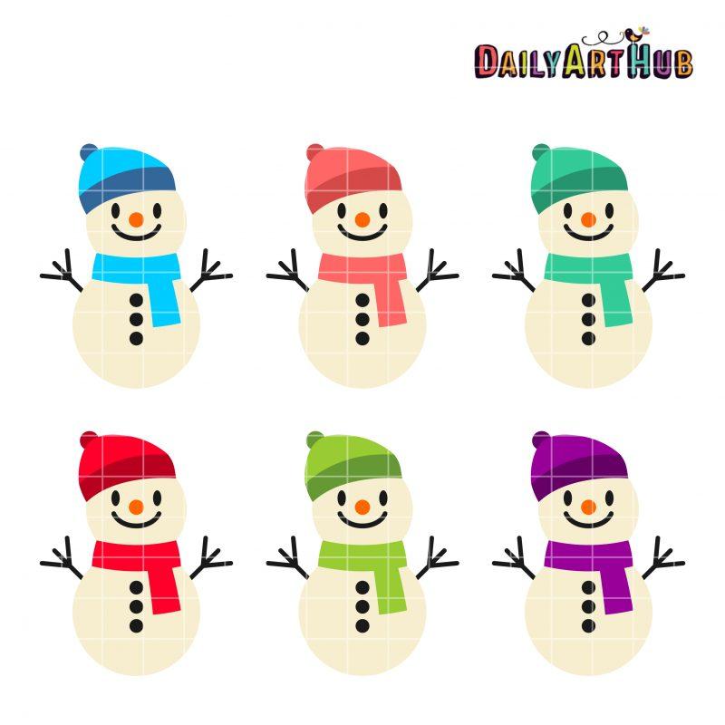 Funny Cute Snowmen