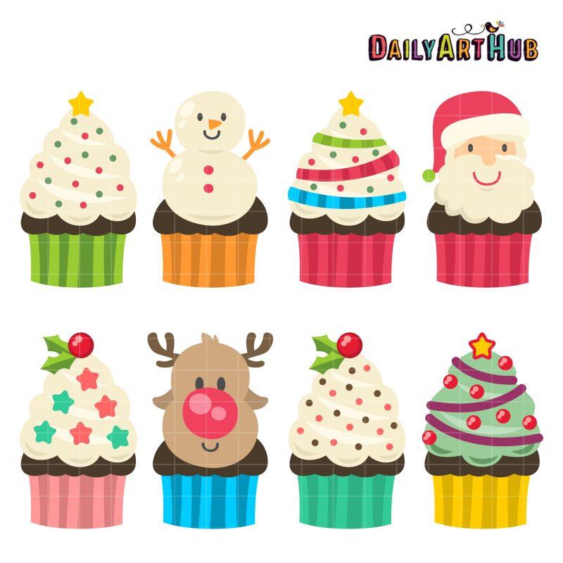 Christmas Yummy Cupcakes