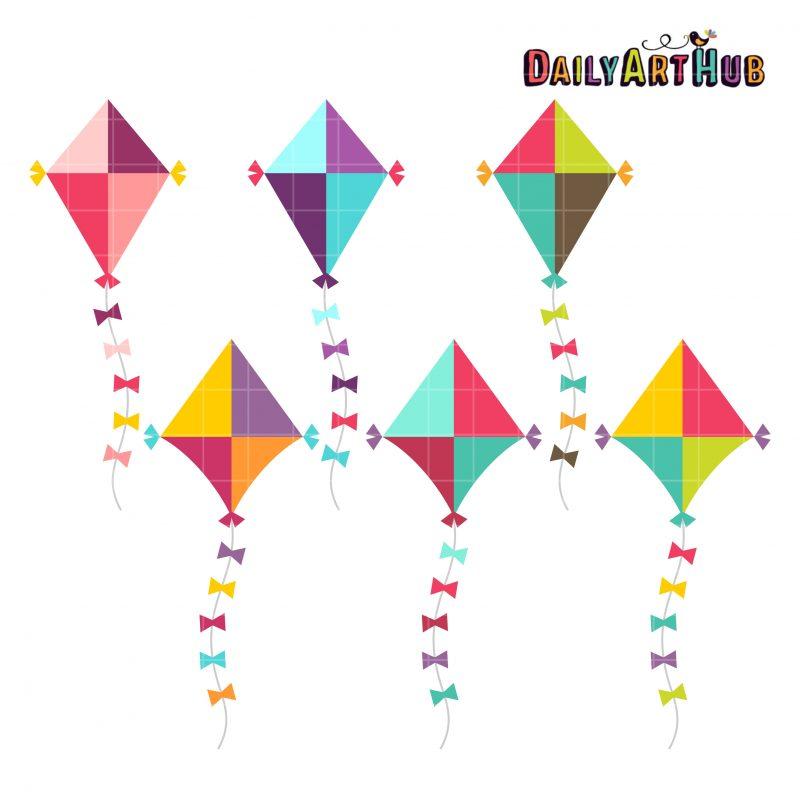 Cute Colorful Kites