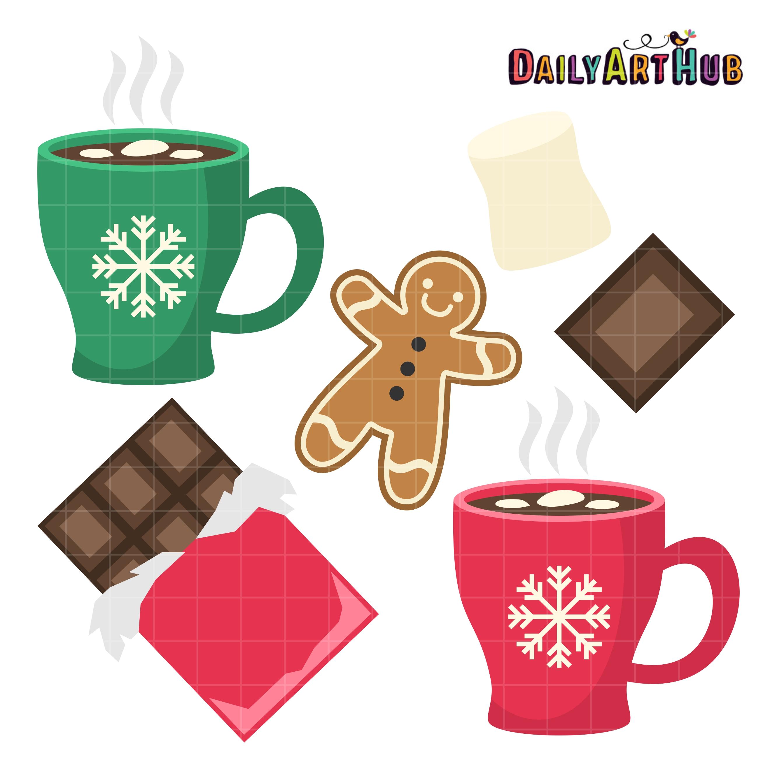 Clip Art Hot Chocolate Clip Art hot chocolate clip art set daily hub set
