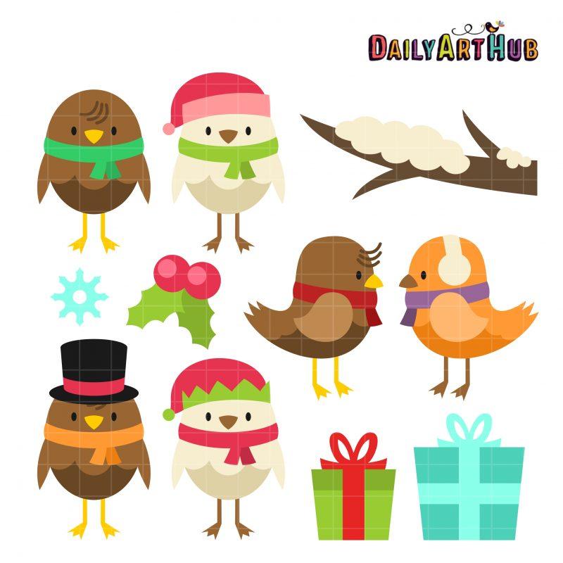 Merry Birdy Christmas