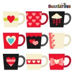 Valentine Coffee Mugs