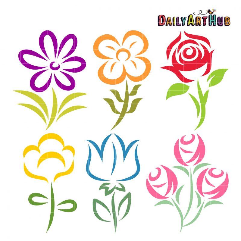Beautiful Flower Shapes
