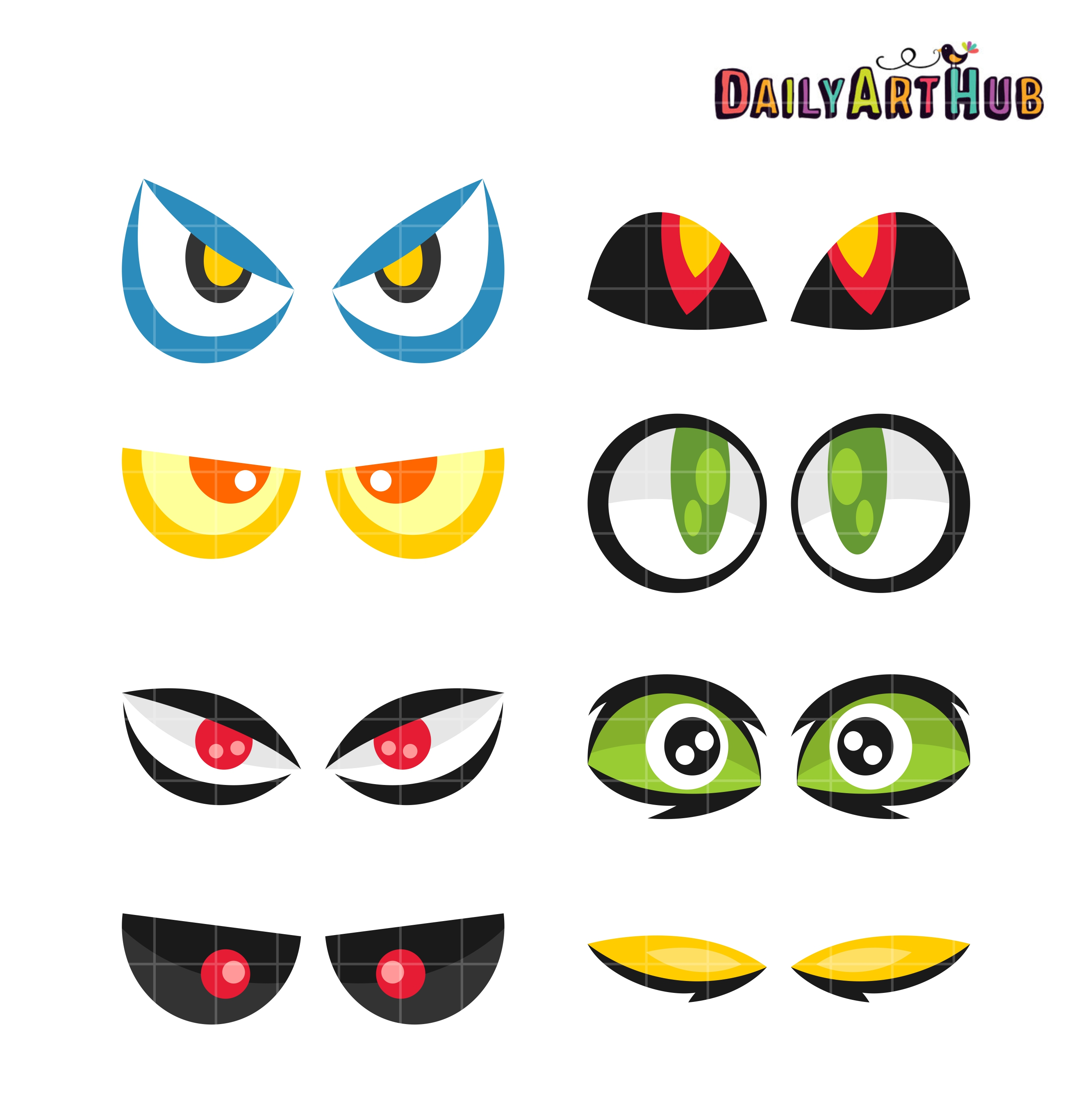 monster eyes clip art set $ 2 99 monster eyes clip art set add to cart ...