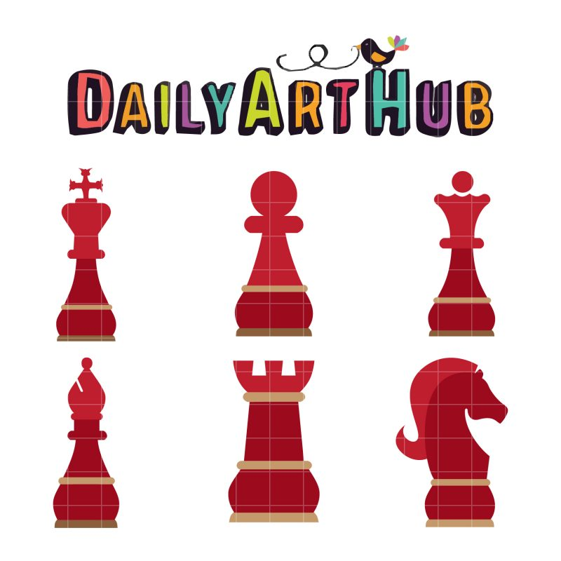 Elegant Chess Pieces