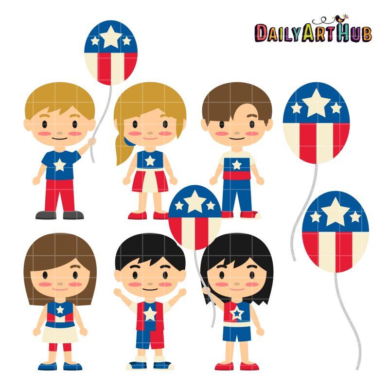 4th Of July Kids