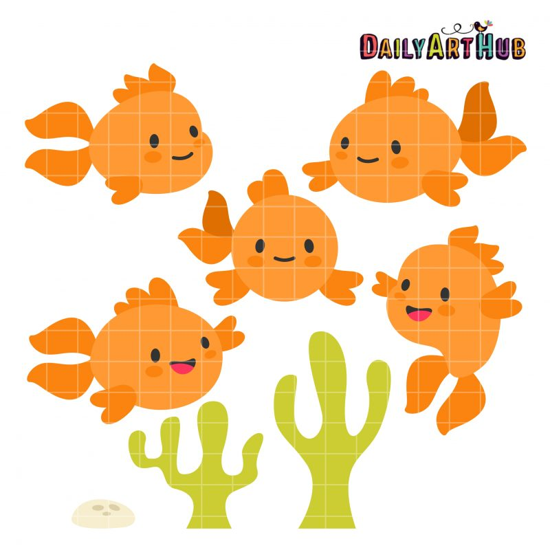 Cute Goldfishes