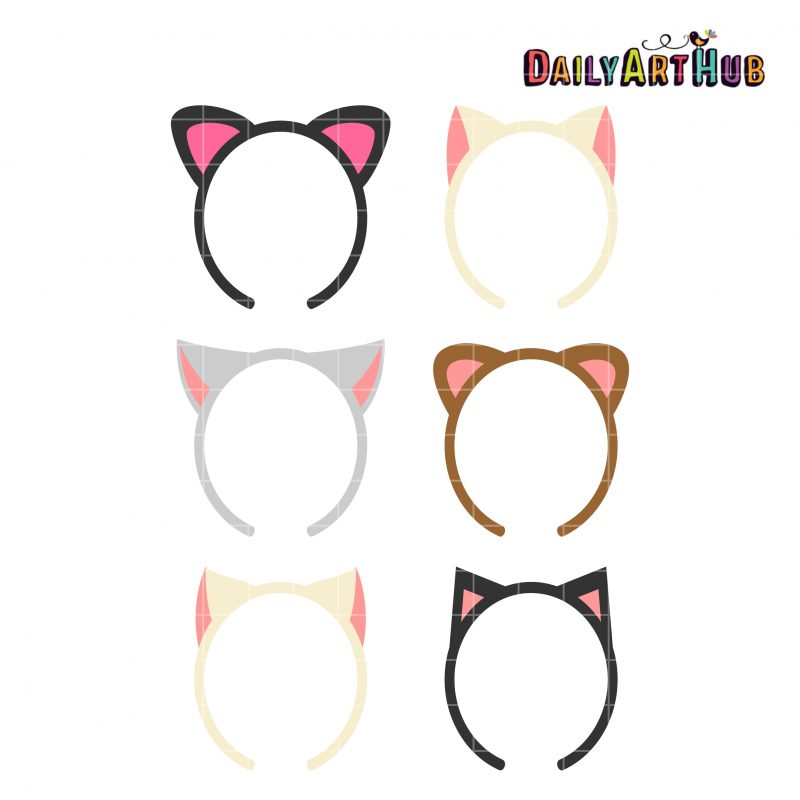 Cat Ear Hairbands