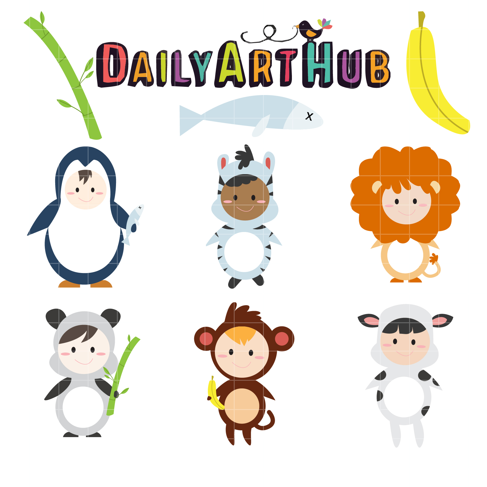 animals clipart for kids-#22