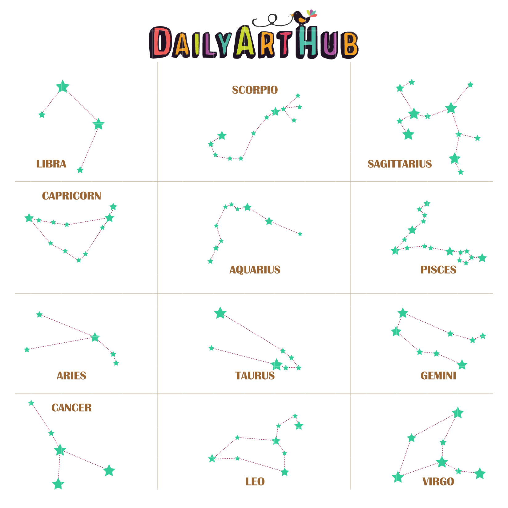 Image result for stars and constellations clipart