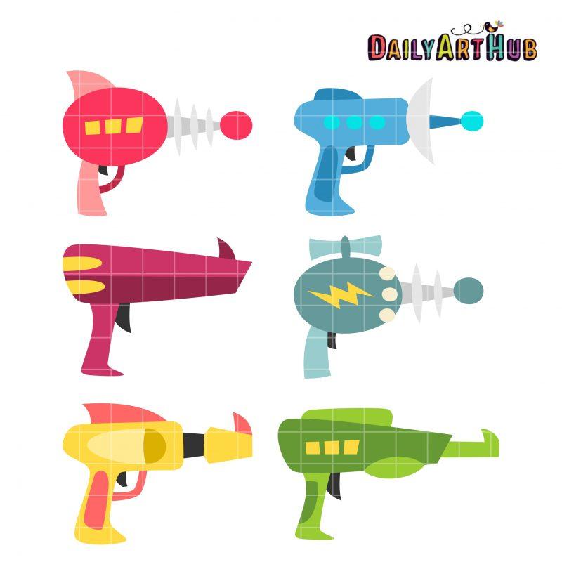 Goofy Laser Guns