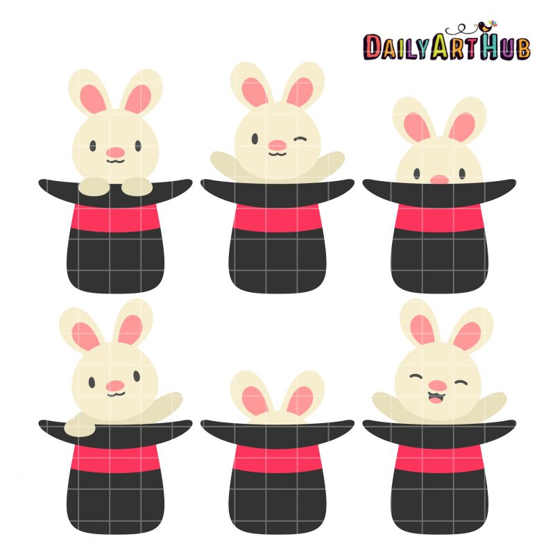Rabbits On Hat