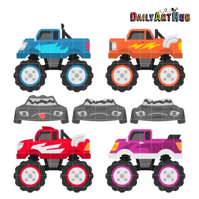 Monster Trucks #4