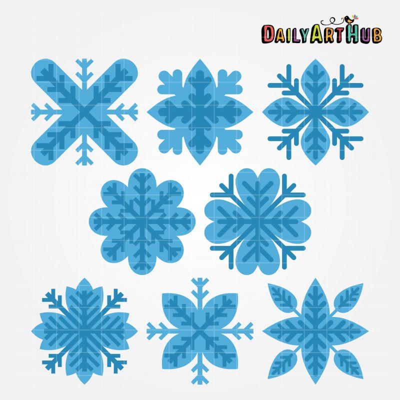 snowflake-flowers