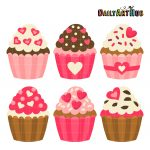 heart-cupcakes