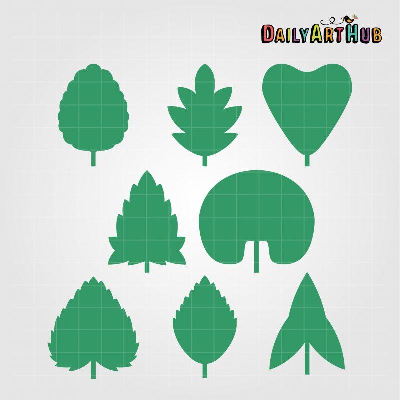 leaf-shapes