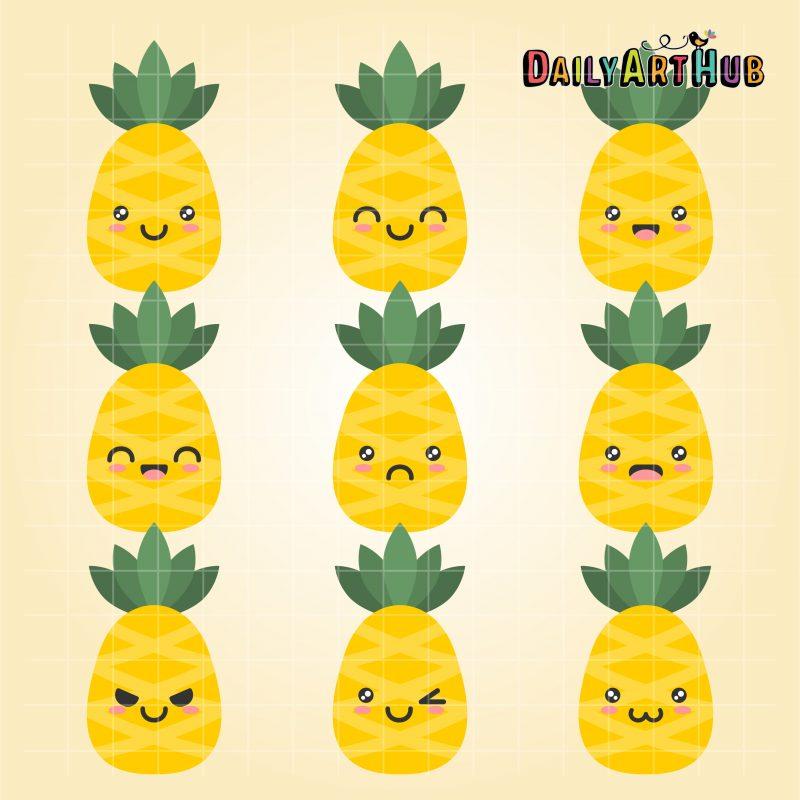 Pineapple Emojis