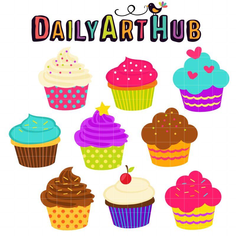 DAH Party Cupcakes